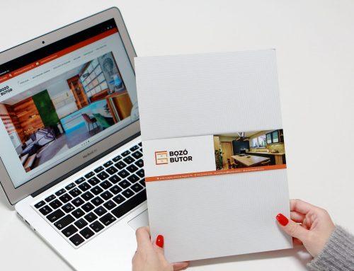 Bozó Bútor Interactive Brochure